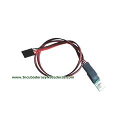 Sonda digital temperatura y humedad para control MXPD de Maino
