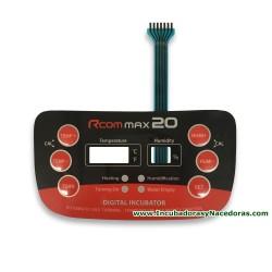 Interruptor de membrana Rcom 20 Max