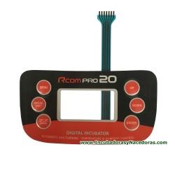 Interruptor de membrana Rcom 20 Pro