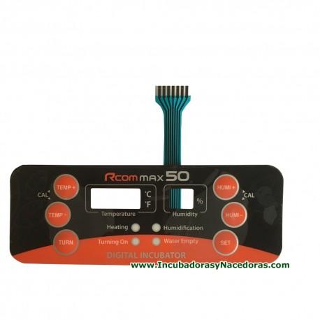 Interruptor de membrana Rcom 50 Max