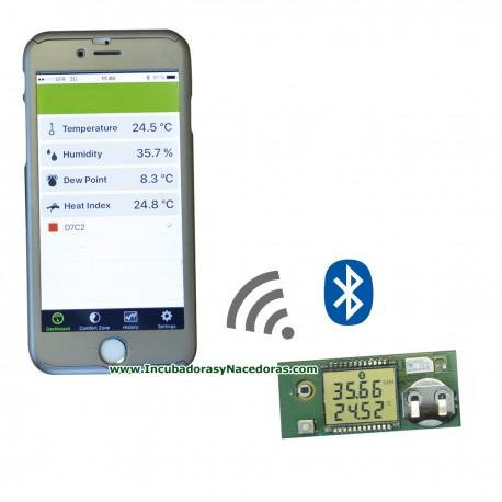 Termómetro de calibración con Bluetooth