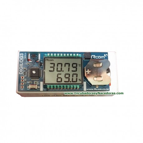 Termo-Higrómetro Digital RCOM - Digilog3