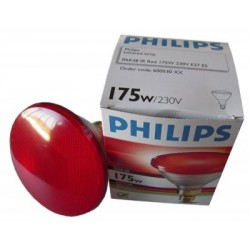 Lámpara infrarroja Philips para pollitos