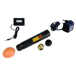 Ovoscopio Powerlux con gran poder LED más adaptador
