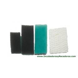Juegos filtros de repuesto y bloque de evaporación para criadora TLC-40 y TLC-50