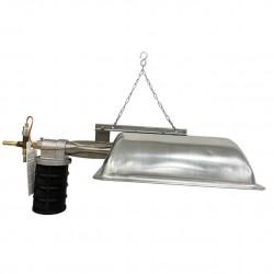 Calefactor a gas para pollitos