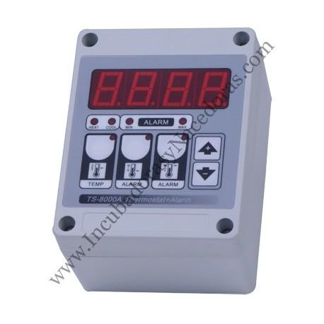 Termostato digital con alarma