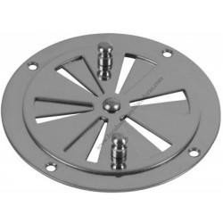 Roseta de ventilación inox para incubadoras 85 mm